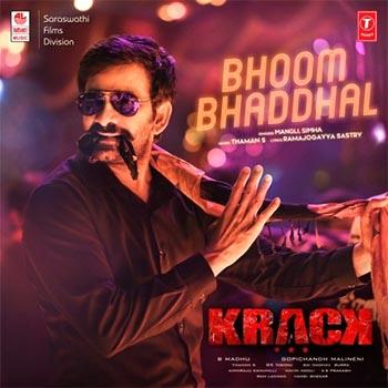 Bhoom Bhaddhal song Krack