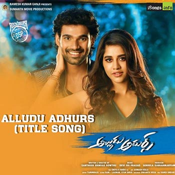 Alludu Adhurs Title song